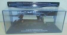 "DIE CAST TANK ""DODGE WC-63 WEAPONS CARRIER GREAT BRITAIN- 1944""  SCALA 1/72 027"