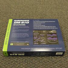 AUDIOCONTROL DM-810 PREMIUM DIGITAL SIGNAL PROCESSOR 8 INPUT / 10 OUTPUT DSP