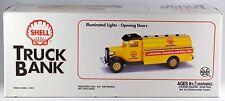 "Marx Shell Toy Tanker Truck Bank 10.75"" Long No. 1 in Series NIB 1995"