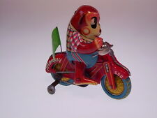 "Gsmoto ""Monkey Cycle"" Alps Toys, 12cm, Wind Up OK, like NUOVO/NEW/Neuf in box!!!"