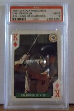 1991 U.S. Playing Cards - CAL RIPKEN JR. - A/S - KING OF DIAMONDS / PSA 9 Mint