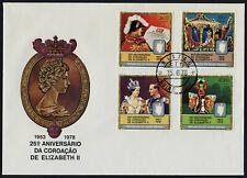 Guinea-Bissau 391-1C on FDC - Queen Elizabeth 25th Anniv of Coronation