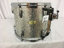 "Pearl Masters MCX 13"" Diameter X 11"" Deep Mounted Tom/Silver Sparkle/# 358/NEW"