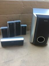 Sony 5.1 Surround Speakers Ts52,ts51,ct51,ws52