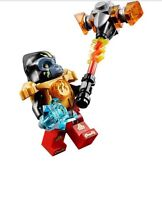 Lego 70143 Chima Gorzan Minifigure With Blayzhamma (Split from set 70143)