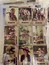 Base Set Blowout! Walking Dead Season 3 Part 1  72 Cards ARCHIVAL SAFE Sleeves