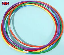 """Witzigs Games Hula Hoops 12 x 750mm (30"""") 6 Colours - Ref: 03247"""