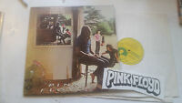 PINK FLOYD 2 LP UMMAGUMMA RARE US 1969 oop CENSORED w/large fan sticker silver!