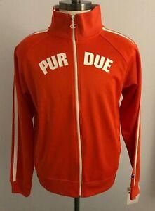 Vintage Champion Fieldhouse PURDUE Adult Athletic Jacket Size: L
