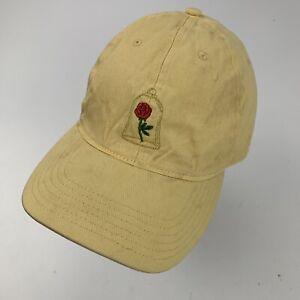 Disney Rose Beauty & The Beast Ball Cap Hat Adjustable Baseball Tale As Old As