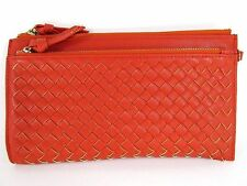 Urban Expressions Woven Clutch Handbag/ Wristlet/ Vegan Lether