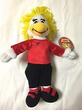 """Chuck E Cheese Stuffed Plush Helen Hen Limited 12"""" 2005 WITH TAG PIZZA & GAMES"""