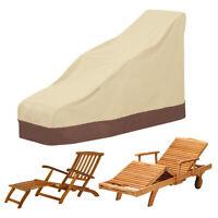 Protecteur couverture chaise lit fainéant soleil piscine extérieure jardin ME