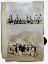 More details for india: british indian army soldier photo pathan sikh punjab afghan tribe c.1890