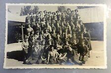 jewish judaica antique photo early idf zahal women soldiers 1952 training base