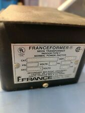 Used Franceformer 6020 Wfg 7 Neon Tube Transformer 120v 60hz 6000v