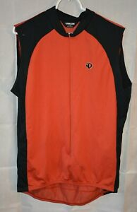 Aevero Sleeveless Jersey 2 pockets Half Zipper Front Size Large For USA Charity!