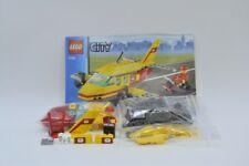 LEGO Set 7732 City Post Flugzeug mit BA Air Mail with instruction