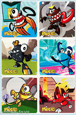 Lego Mixels Stickers x 6 - Favours Loot Bag Birthday Supplies - Party Rewards