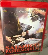 SATANICO PANDEMONIUM Blu Ray Limited Edition 1000 Red Case Mondo Macabro Horror