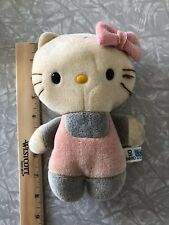 Vtg Pink Hello Kitty Plush Sanrio Hello Color Change 80's Toy Taiwan Rare Cat