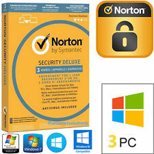 Antivirus Norton Security Deluxe 2017 1ANNO 3PC / Dispositivi Vari
