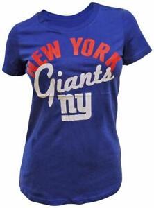 G-III 4her New York Giants Women's Tailgate T-Shirt - Blue