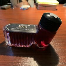 Mont Blanc Fountain Pen Ink Bottle - Red