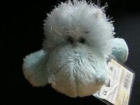 Ganz Webkinz HS009 Blue Hippo Plush Stuffed Animal W/Code