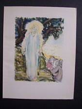Gravure  / François QUELVEE -  Apparition divine  - 1931