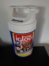 Vintage Playmate Igloo 1/2 Gallon Beverage Cooler Blue BBQ Party Portable