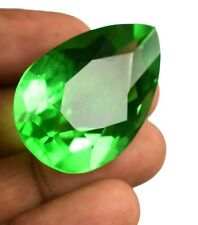 75.95 Ct IGL Certified Pear Green Tektite Moldavite Loose Charming Gemstone B544