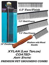 Master Grooming Tools XYLAN(Like TEFLON)STEEL Dog Cat Pet COMB Greyhound Finish