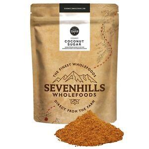 Sevenhills Wholefoods Organic Coconut Sugar/Blossom | Energy, Low GI