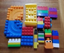 Lot of 36 Mega Bloks Assorted Shapes and Sizes