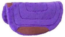 Tough-1 Purple Heavy Fleece Barrel Pad Horse Tack Equine 31-623