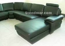 4PC NEW MODERN DESIGNER LEATHER SECTIONALS SOFA S291A