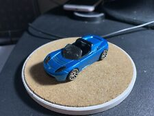 Hot Wheels Tesla roadster First Edition Blue Loose