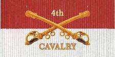 4th Cavalry License Plate -LP202-4
