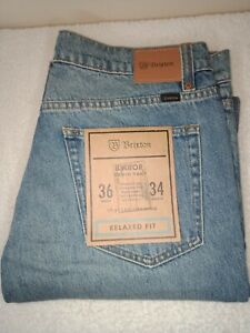 Brixton Jeans Labor Relaxed Fit Size 36W 34L