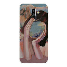 For Samsung Galaxy A6 A7 A8 J4 J6 2018 Painted Soft Silicone Gel Back Case Cover