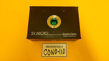 Sound Vision Sv Micro Microscope Ccd Camera Used Working