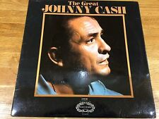 JOHNNY CASH The Great Johnny Cash UK Hallmark Vinyl LP EXCELLENT CONDITION