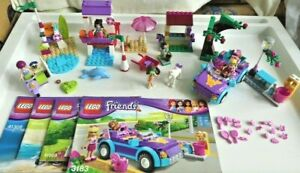 LEGO Friends Sets 3183 41003 41028 41306 with 4 Minifigures, 4 Animals & Manuals
