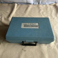 Tektronix P6046 Differential Probe W/ Amplifier, Power Supply, Case