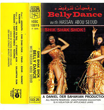 MFD IN LEBANON ARABIC FOLK BELLY DANCE CASSETTE WITH HASSAN ABOU SEOUD