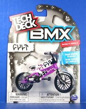Tech Deck BMX Bike PURPLE with Black Tires NEW Finger Bike Series 11