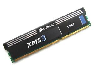 Corsair XMS3 CMX4GX3M1A1333C9 4GB 1333MHz PC3-10600 DDR3 RAM Memory Ver8.11