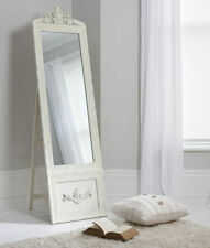 Wooden Antique Style Freestanding/Cheval Decorative Mirrors