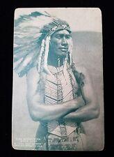 1953 Duke Kahanamoku Indian Chief in The Pony Express Postcard James Cruz Pro.